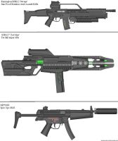 Military Weapon Variants 25 by Marksman104