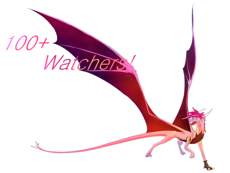 100+ Watchers!!! Thank you! by Lunoxius