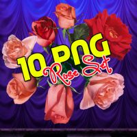PNG ROSES SET by Rossyx