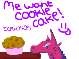 cookie cake by icewolf25