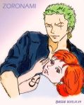 In Your Arms (Zoro Nami) by BelleLoveZoro