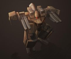Super robot thingy of doom by Zerion