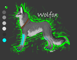 wolfox brand ref by golden-wolfox