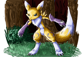 renamon yo by Animatics