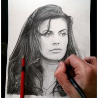 Meghan Ory (Red Riding Hood) by MLS-art