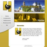 Hotel Gomez template by Momillo