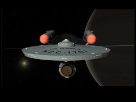 Pre- Nova Trek Enterprise by mdbruffy
