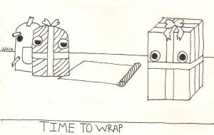 time to wrap by bluekerbe