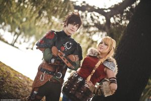How To Train Your Dragon 2 ~ Hiccup and Astrid II by YamatoTaichou