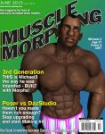 Muscle Morphin Mag June by GreysonFurrington