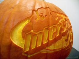 Interstate '76 Pumpkin Detail by ceemdee