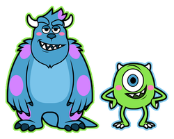 Monsters by DisfiguredStick