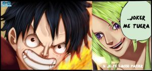 Luffy vs Mone by Lord-Nadjib