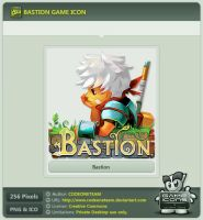 Bastion Icon by CODEONETEAM