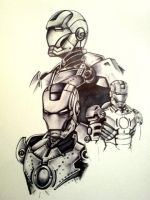 IronMan by In5an1ty