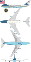 Air force one SAM 29000 by bagera3005