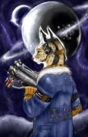 Space Serval by rejoice