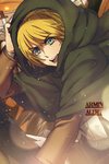 Armin Arlert IPhone Lockscreen by LuciferJ