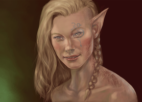 Elf Eyes by middlexmind