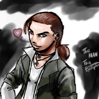 Quick Self Portrait. by Egoraptor
