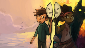 Cry plays: Broken age Act 2 by tunaniverse