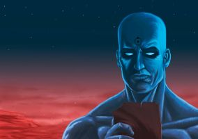 Dr Manhattan by jaimecastro