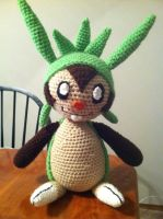 Chespin Pokemon Crochet Plush Pattern by Ookamichan423