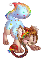 Commission: Nyankaty by AttackTheMap