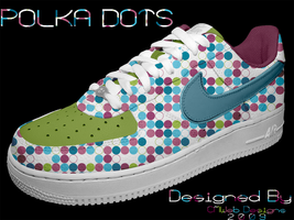 NEW: Polka Dots Shoe Design by CMWebStudios