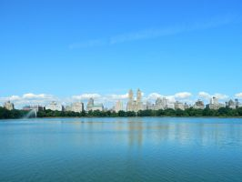 Jacqueline Kennedy Onassis Reservoir-Central Park by Georgya10