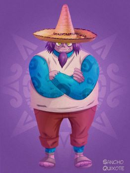 The Mexican drummer by AmaruZeichner