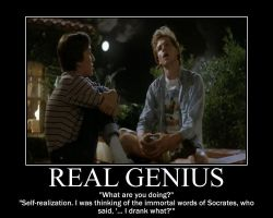 Real Genius by CrescentMoonDemon