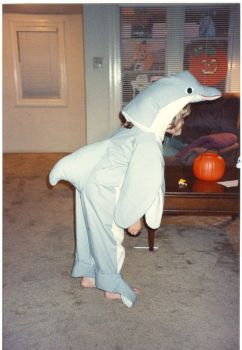 Dolphin Costume Side by wembly