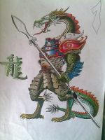 chinese drago by zok4life