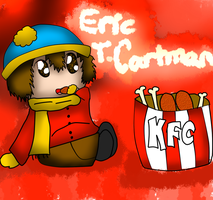 AT with Peudleuduz: Cartman with KFC by Hallerpl