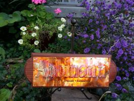 Copper Custom Sign Name or Phrase perfect gift by artistiquejewelry