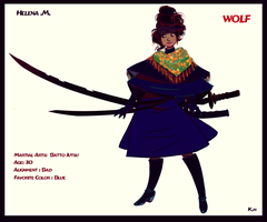 Helena the WOLF v4 by K-hermann