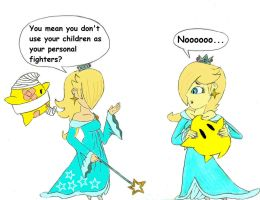 Rosalina: Smash vs. Canon by Mothralina95