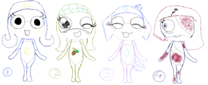 Sgt. Frog Orikero Adoptables :3 CLOSED by LillyTheSeedrian