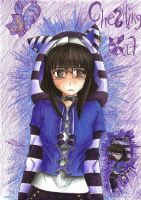 Cheshire Cat Me by MESS-Anime-Artist