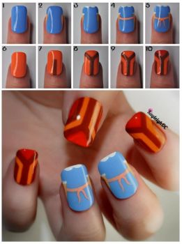 The Shining Nail Art - Tutorial by KayleighOC