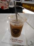 Old Town White Coffee cold drink by K4nK4n