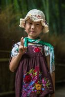 Girl in bamboo forest by BanyoiSilvia