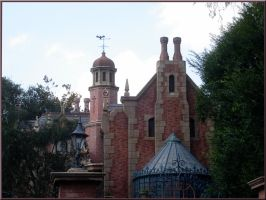 Haunted Mansion Wallpaper 3 by WDWParksGal-Stock