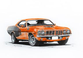 Plymouth Barracuda 1971 by Mipo-Design