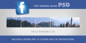 Facebook Top Banner PSD Kit by TheAL