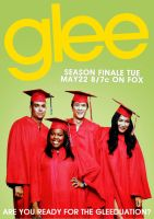 Gleeduation Poster by MonsterGleek