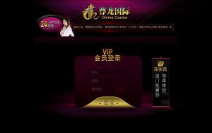 DYJ Online casino VIP Page by rp-designs