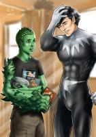 Anole and Northstar by Autumn-Sacura