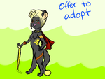 Lion queen adopt (CLOSED) by k-razykitten